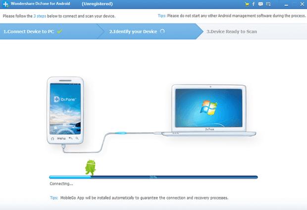Wondershare có một thử nghiệm miễn phí cho phép bạn phục hồi các tin nhắn văn bản đã xóa