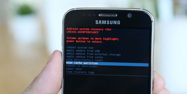 Samsung-Galaxy-S6-recovery-mode-wipe-cache-partition