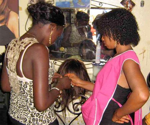Salon de coiffure centre ville dakar