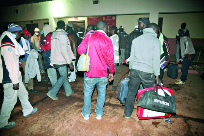 170 Sénégalais rapatriés de Libye — Retour de migrants