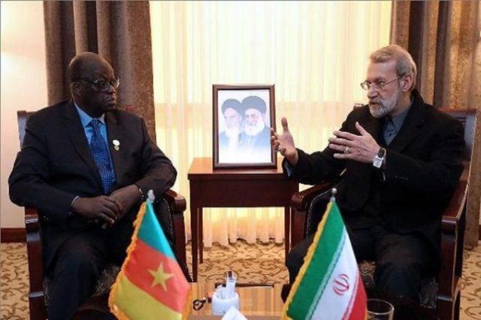 Moustapha Niasse reçu en Iran avec… un drapeau camerounais