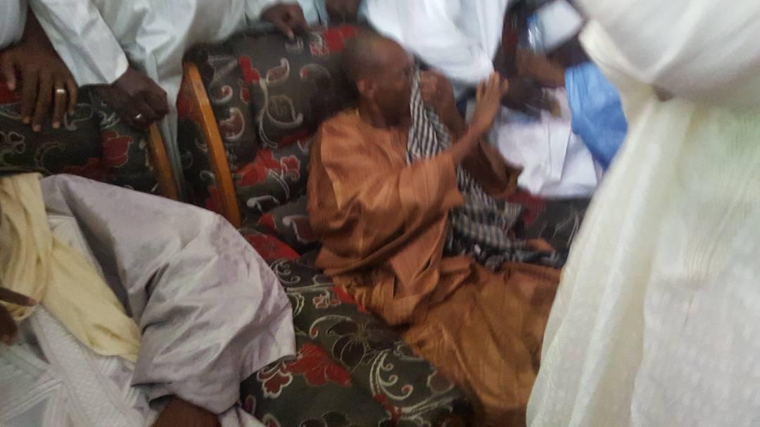 Abdoulaye daouda Diallo et Cheikh Oumar Hann échange des coups — Podor