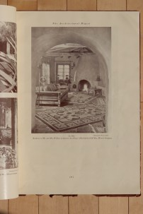 La Sala at the Lindstrom House by Cliff May in Architectural Digest (1934).