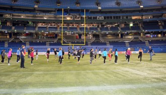 Football 101 with the Argos