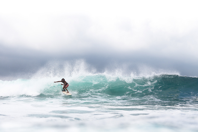 Ekas is one of the top 10 waves in Lombok, with amazing walls and long sections