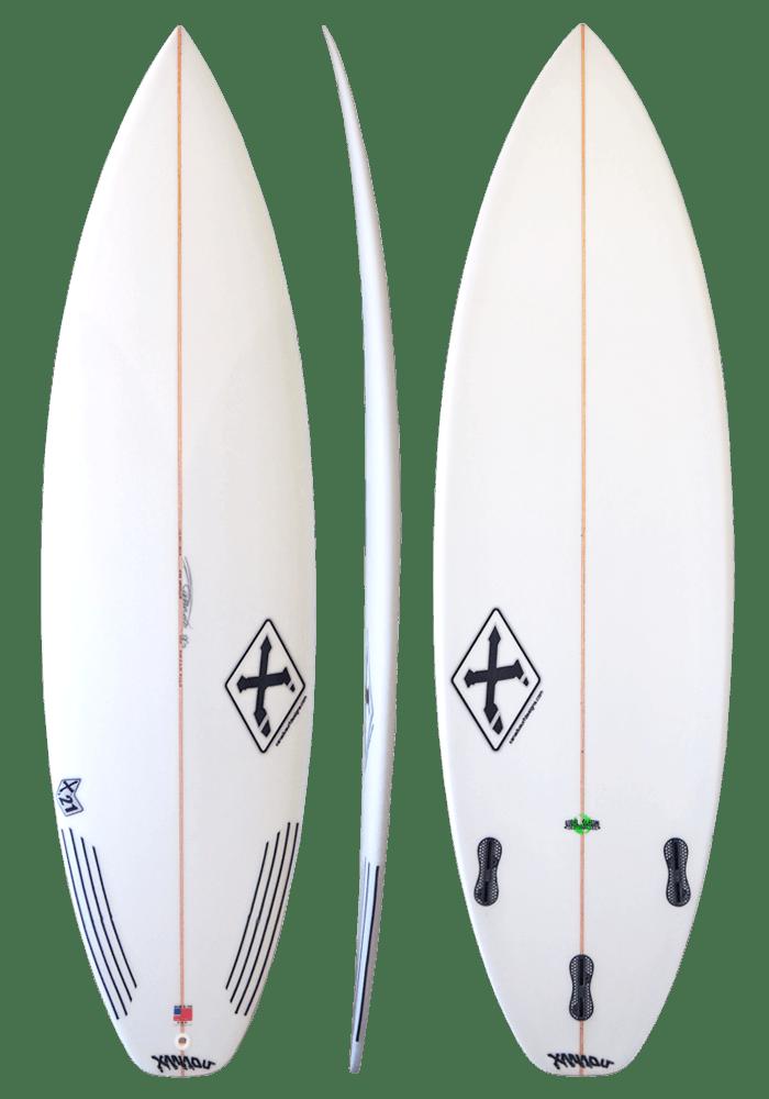 Xanadu Surfboards X21 model