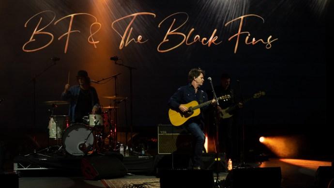 Bernard Fanning & The Black Fins @ The Sidney Myer Music Bowl 2021