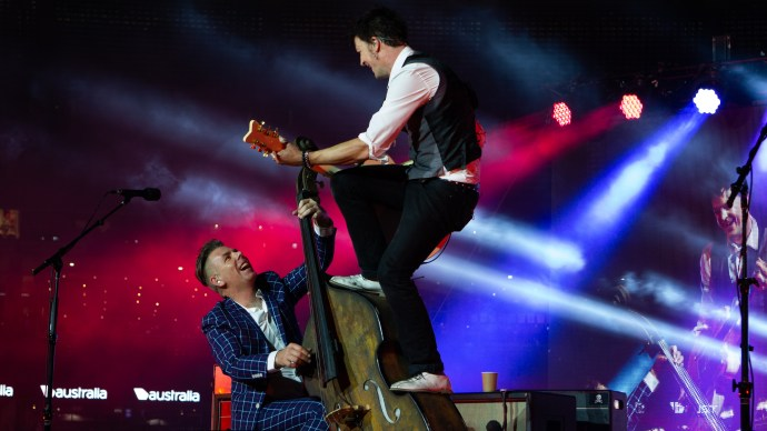 The Living End @ The AFL Grand Final MCG 2016