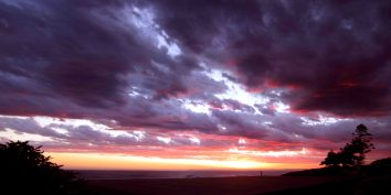 Panorama - The most beautiful sunset EVER...