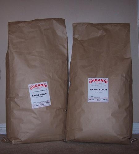 20 KGs of Kamut and Spelt Flour