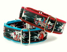 I've done designs for fabric (used here for collars and leashes to raise money for Hope for Hounds).