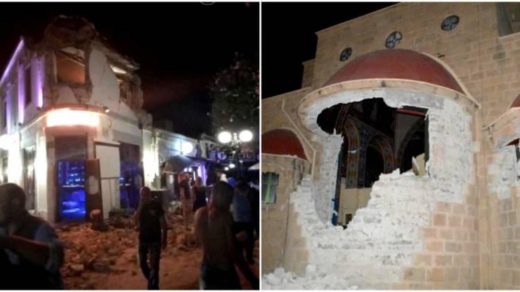 2489653b6d 2 νεκροί και σοβαρά τραυματίες από το φονικό σεισμό 6