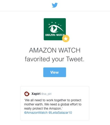 Amazon Watch - Xapiri