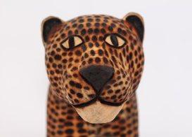 Guarani Jaguar, Tribal Art Brazil
