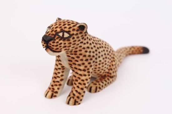 Guarani Carved Jaguar, Brazil