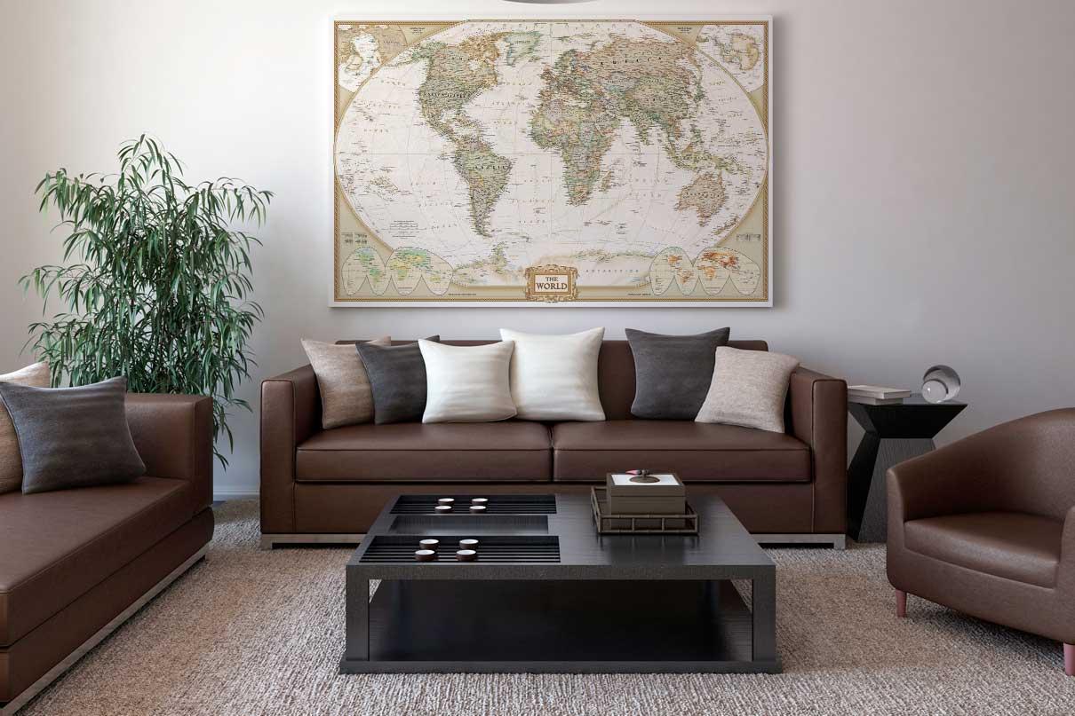 χάρτες τοίχου