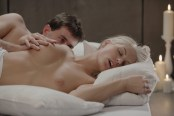 X-Art Barbie in Rolling in the Sheets With James Deen 15