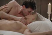 X-Art Barbie in Rolling in the Sheets With James Deen 17