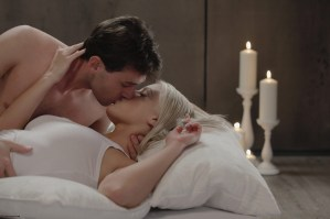 X-Art Barbie in Rolling in the Sheets With James Deen 3