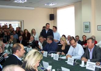 2012/11/15: Ο Β. Χατζηλαμπρου στη συνεδριαση του περιφερειακου συμβουλιου Δυτ. Ελλαδας με θεμα τις απολυσεις