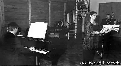 Pamela Hamblin - Sopran , Xaver Paul Thoma - Bratsche , Matthias Hammerschmitt - Klavier