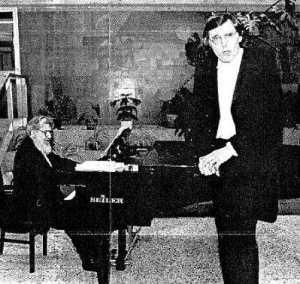 Rainer Pachner - Bariton, Ramon Walter - Klavier