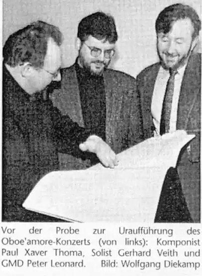 Xaver Paul Thoma, Gerhard Veith, Peter Leonard