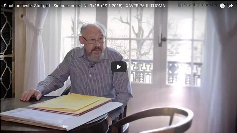 Video Xaver Paul Thoma, Cellokonzert