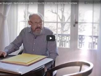 Video Xaver Paul Thoma, Cellokonzert