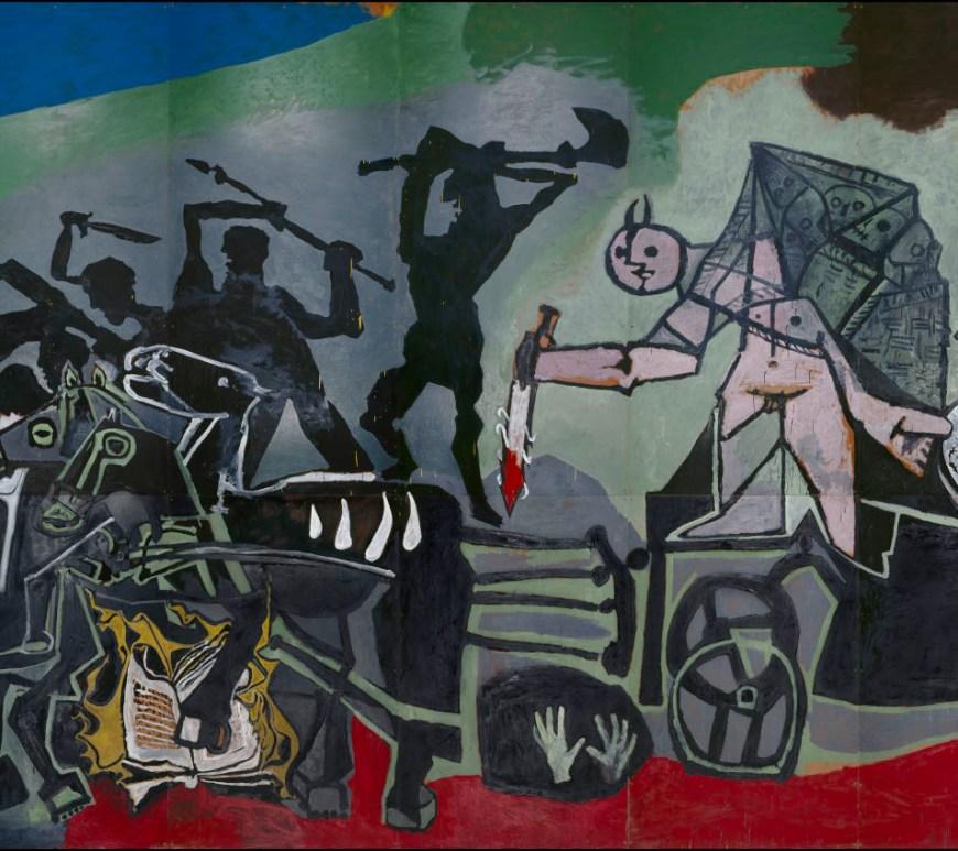 La guerre - Pablo Picasso - 1952