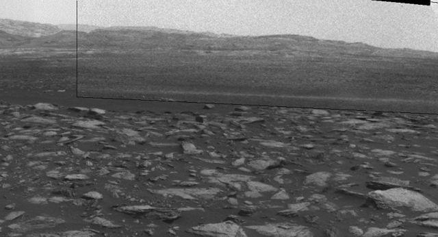 Un diablo de polvo en Marte
