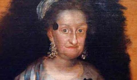 El misterioso lunar de una Infanta Borbón fallecida en extrañas circunstancias: ¿cáncer mortal o un parche?