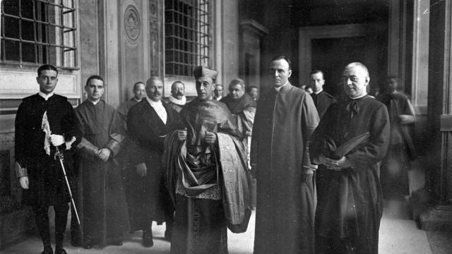 El Cardenal Vidal y Barraquer, en Roma (1921). (Cedida / AMCAM - Fons Arxiu Família Vidal-Barraquer)