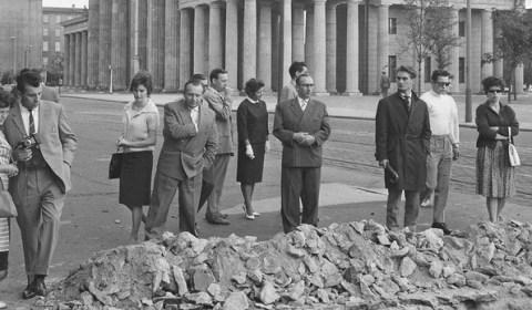 Secretos y vergüenzas de la construcción del Muro de Berlín