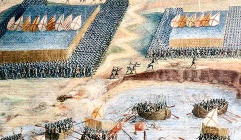 Así conquistaron por tierra y mar los Tercios españoles el territorio de Portugal: Felipe II, Rey del mundo