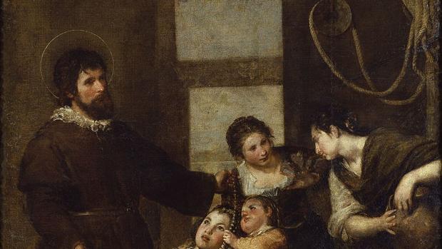 «El Milagro del pozo de San Isidro», cuadro realizado por Alonso Cano - Museo del Prado
