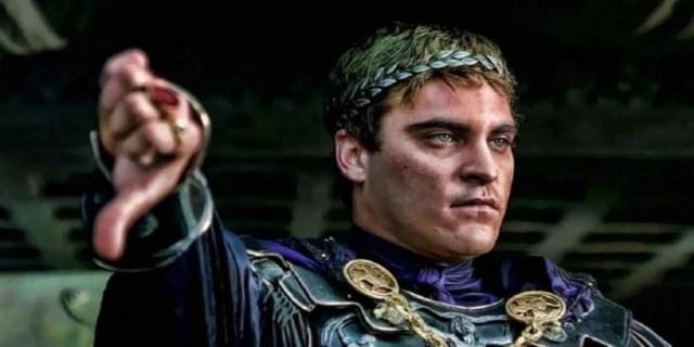 Representación de Cómodo en la película Gladiator - Vídeo: Cómodo: El emperador de Roma que también quiso ser gladiado
