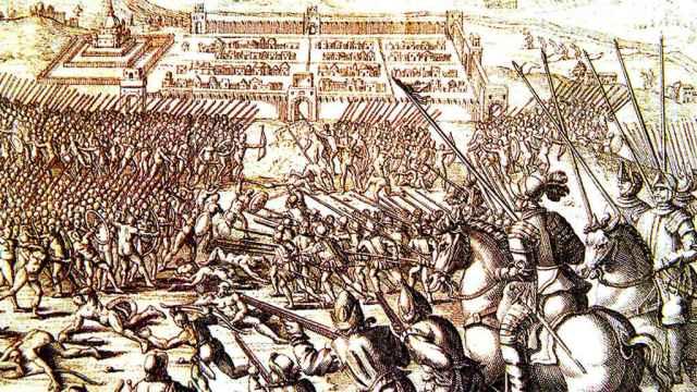 La batalla de Cuzco.