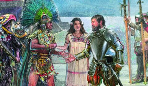 El misterio de cómo terminó el penacho de Moctezuma a modo de trofeo Habsburgo