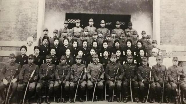 Foto de la academia para jóvenes estudiantes del siniestro Escuadrón 731