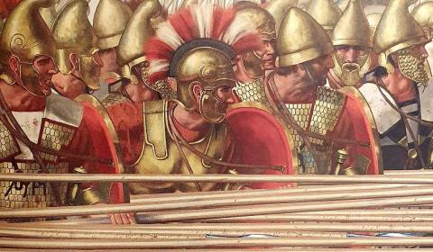 Libros: Legiones frente a falanges: la lucha decisiva de la infantería antigua