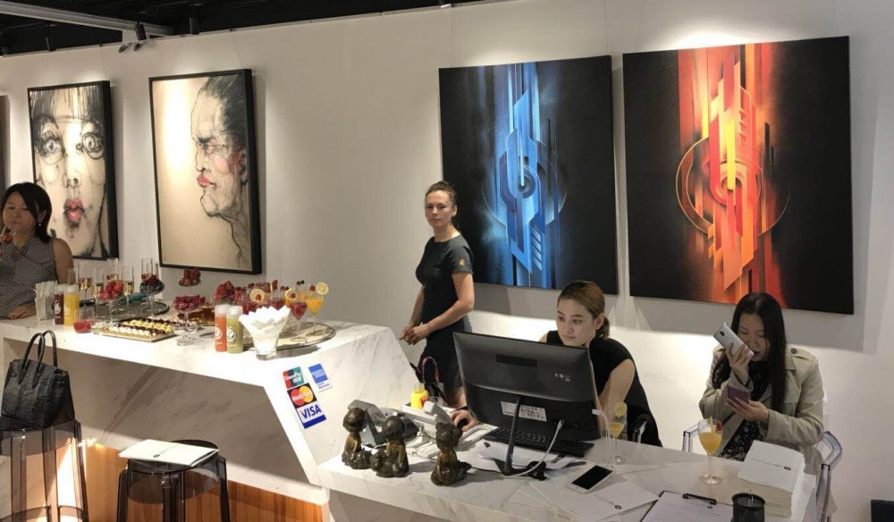 Amanda Wei gallery Hong Kong - Magaldi 2017