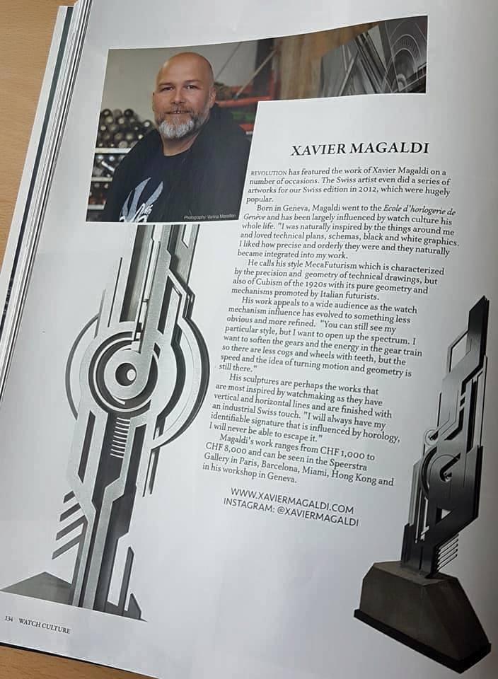 Revolution Watch magazine Magaldi 04