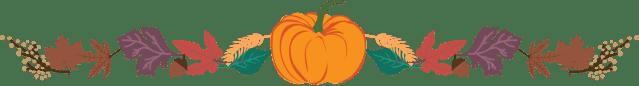 Thanksgiving Clip Art Dividers 12