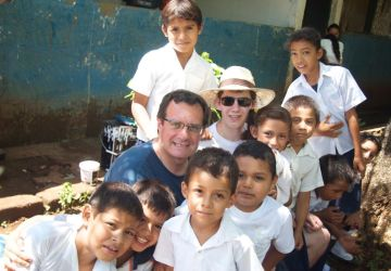Camp d'ajuda a Nicaragua