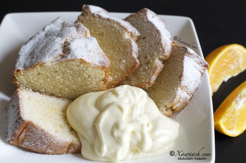 Xawaash Butter Cake