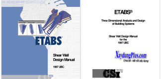 Giáo trình Etabs Shear Wall Design Manual UBC