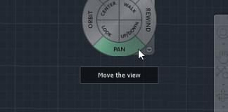 Mẹo sử dụng View Cube - Navigation Bar