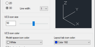 Mẹo sử dụng trục tọa độ trong AutoCad