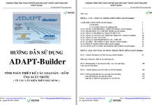 Tính cấu kiện UST bằng ADAPT